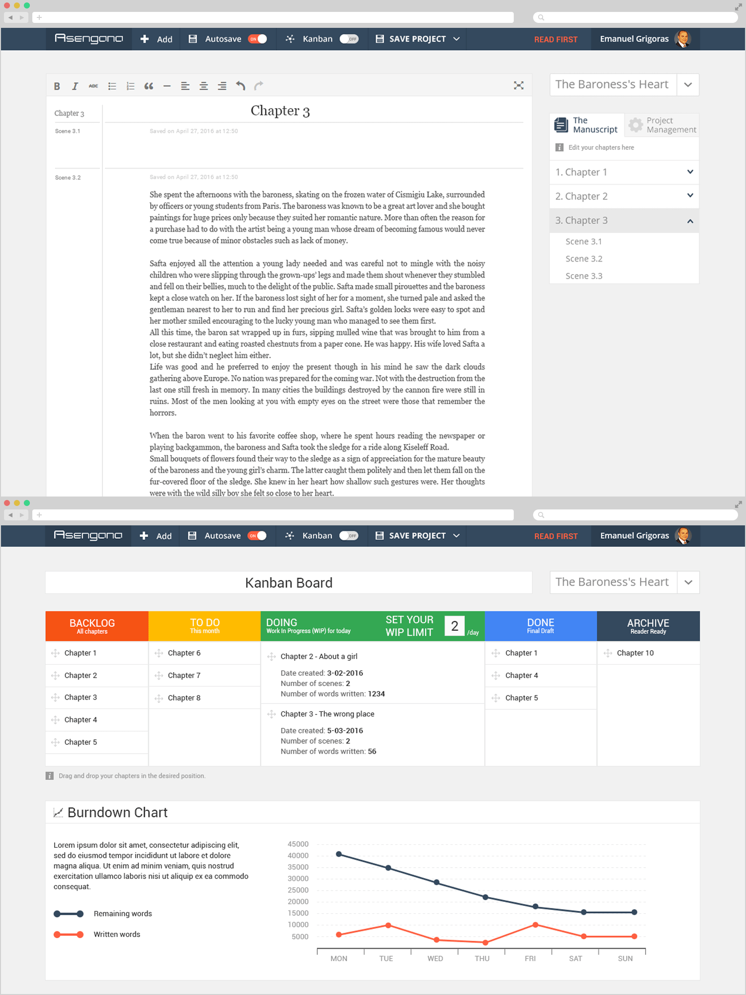 Asengana - Project Management and Digital Tools for Writers 1